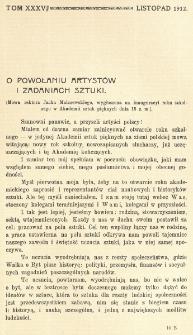 Krytyka : miesięcznik społeczny, naukowy i literacki. R. 14, Cz. 2 (listopad 1912)