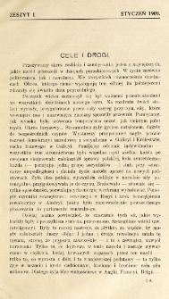 Krytyka : miesięcznik społeczny, naukowy i literack. R. 11, z. 1 (1909)
