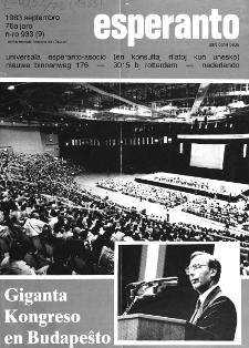 Esperanto : revuo internacia : oficiala organo de Universala Esperanto Asocio. Jaro 76, n. 933 (1983)