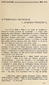 Krytyka : miesięcznik społeczny, naukowy i literacki. R. 15, Cz. 2 (maj 1913)