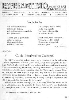 Esperantisto Slovaka. Jarkolekto 5, No 3/4 (1950)