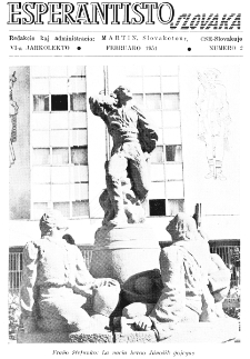 Esperantisto Slovaka. Jarkolekto 6, No 2 (1951)