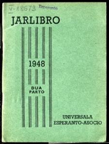 Oficiala Jarlibro / Universala Esperanto Asocio. 1948 (Dua Parto)