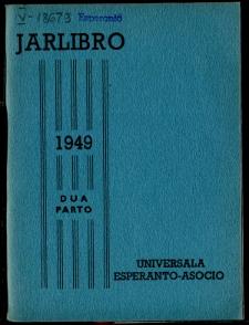 Oficiala Jarlibro / Universala Esperanto Asocio. 1949 (Dua Parto)
