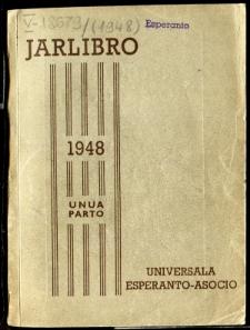 Oficiala Jarlibro / Universala Esperanto Asocio. 1948 (Unua Parto)
