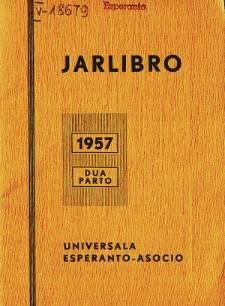 Oficiala Jarlibro / Universala Esperanto Asocio. 1957 (Dua Parto)