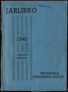 Oficiala Jarlibro / Universala Esperanto Asocio. 1949 (Unuoa Parto)