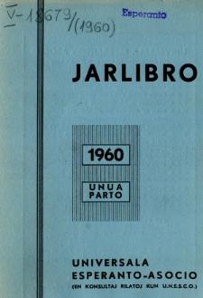 Oficiala Jarlibro / Universala Esperanto Asocio. 1960 (Unua Parto)