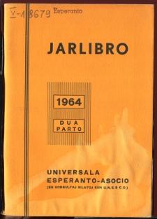 Oficiala Jarlibro / Universala Esperanto Asocio. 1964 (Dua Parto)