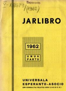 Oficiala Jarlibro / Universala Esperanto Asocio. 1962 (Unua Parto)