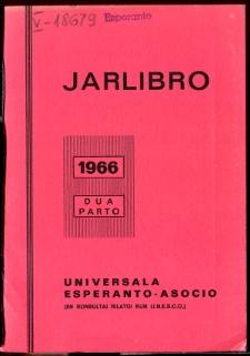 Oficiala Jarlibro / Universala Esperanto Asocio. 1966 (Dua Parto)