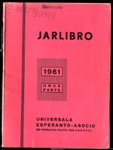 Oficiala Jarlibro / Universala Esperanto Asocio. 1961 (Unua Parto)