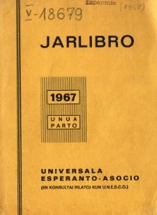 Oficiala Jarlibro / Universala Esperanto Asocio. 1967 (Unua Parto)