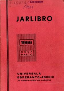 Oficiala Jarlibro / Universala Esperanto Asocio. 1966 (Unua Parto)