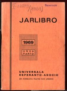 Oficiala Jarlibro / Universala Esperanto Asocio. 1969 (Unua parto)