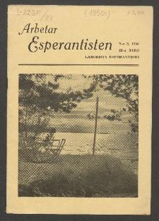 Arbetar Esperantisten = Laborista Esperantisto. Jaro 29, no. 3 (1950)