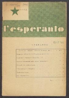 L'Esperanto. Anno 27, no 1 (1950)