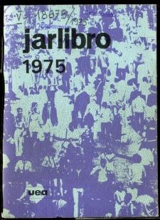 Oficiala Jarlibro / Universala Esperanto Asocio. 1975