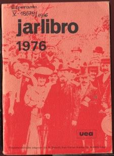 Oficiala Jarlibro / Universala Esperanto Asocio. 1976