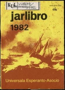 Oficiala Jarlibro / Universala Esperanto Asocio. 1982