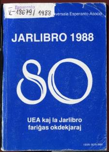 Oficiala Jarlibro / Universala Esperanto Asocio. 1988