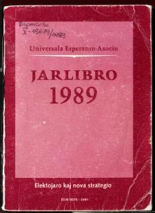 Oficiala Jarlibro / Universala Esperanto Asocio. 1989