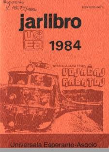 Oficiala Jarlibro / Universala Esperanto Asocio. 1984