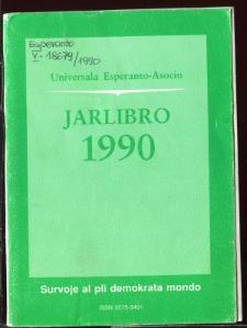 Oficiala Jarlibro / Universala Esperanto Asocio. 1990