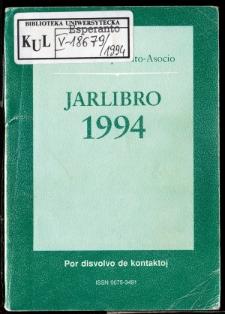 Oficiala Jarlibro / Universala Esperanto Asocio. 1994