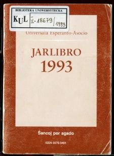 Oficiala Jarlibro / Universala Esperanto Asocio. 1993