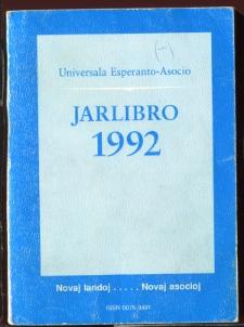 Oficiala Jarlibro / Universala Esperanto Asocio. 1992