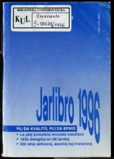 Oficiala Jarlibro / Universala Esperanto Asocio. 1996