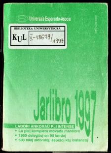 Oficiala Jarlibro / Universala Esperanto Asocio. 1997