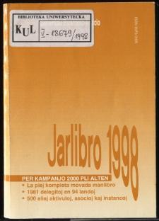 Oficiala Jarlibro / Universala Esperanto Asocio. 1998