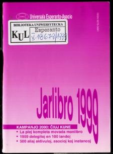 Oficiala Jarlibro / Universala Esperanto Asocio. 1999