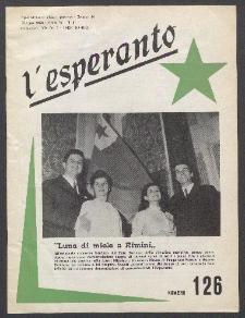 L'Esperanto. Anno 46, no 126 (1968)