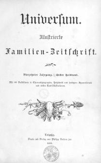 Universum : Illustrierte Famiilien-Zeitschrift. Jg. 14, Hlbd. 1 (1898)