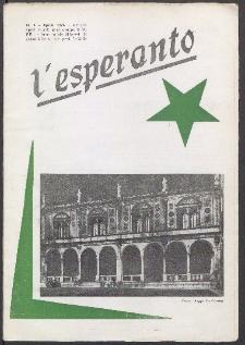 L'Esperanto. Anno 52, no 4 (1974)
