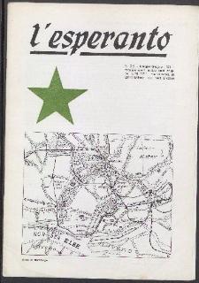 L'Esperanto. Anno 52, no 5/6 (1974)