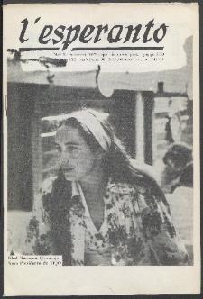 L'Esperanto. Anno 53, no 9 (1975)
