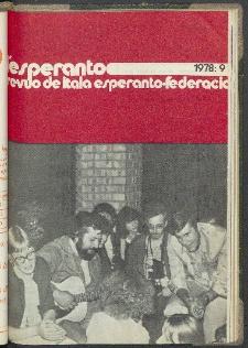 L'Esperanto. Anno 56, no 9 (1978)