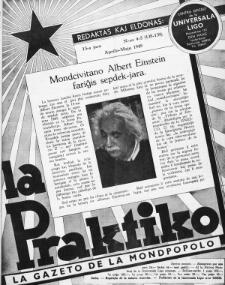 La Praktiko : la gazeto, kiu instruas kaj amuzas. Jaro 13a, nr 4/5=138/139 (1949)
