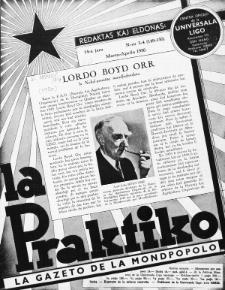 La Praktiko : la gazeto, kiu instruas kaj amuzas. Jaro 14a, nr 3/4=149/150 (1950)