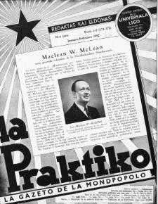 La Praktiko : la gazeto, kiu instruas kaj amuzas. Jaro 16a, nr 1/2=171/172 (1952)