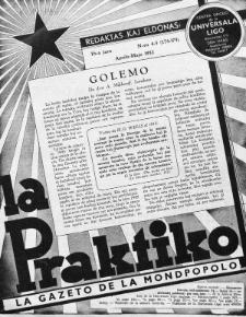 La Praktiko : la gazeto, kiu instruas kaj amuzas. Jaro 16a, nr 4/5=174/175 (1952)