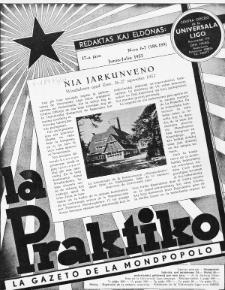 La Praktiko : la gazeto, kiu instruas kaj amuzas. Jaro 17a, nr 6/7=188/189 (1953)
