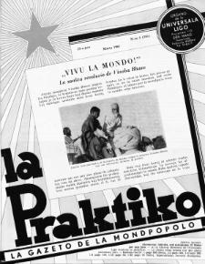 La Praktiko : la gazeto, kiu instruas kaj amuzas. Jaro 25a, nr 3=281 (1961)