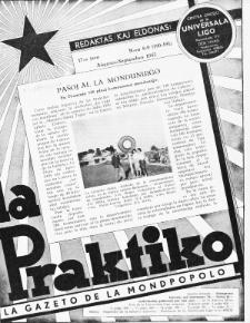 La Praktiko : la gazeto, kiu instruas kaj amuzas. Jaro 17a, nr 8/9=190/191 (1953)