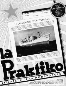 La Praktiko : la gazeto, kiu instruas kaj amuzas. Jaro 25a, nr 5=283 (1961)