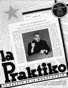 La Praktiko : la gazeto, kiu instruas kaj amuzas. Jaro 25a, nr 9=287 (1961)